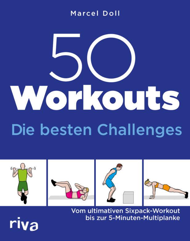 """Buchempfehlung """"50 Workouts – Die besten Challenges"""" von Marcel Doll"""