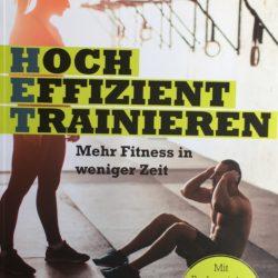 """Buchempfehlung """"Hoch Effezient Trainieren"""" von Dr. Christian Zippel"""