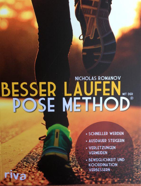 """Buchempfehlung """"Besser laufen mit der Pose Method®"""" von Nicholas Romanov"""