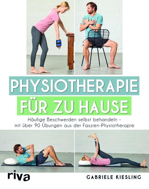 """Buchempfehlung """"Physiotherapie für Zuhause"""" von Gabriele Kiesling"""