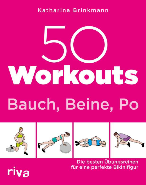 """Buchempfehlung """"50 Workouts Bauch, Beine, Po"""" von Katharina Brinkmann"""